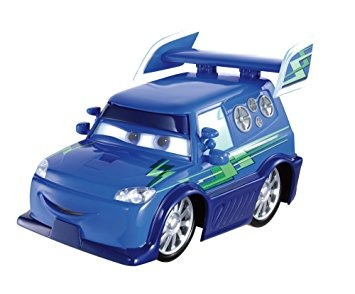 juguete disney / pixar cars fundió el vehículo dj