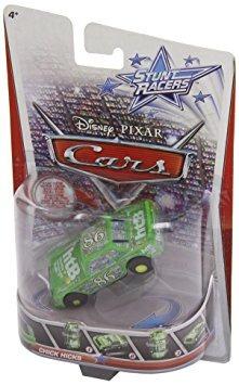 juguete disney / pixar cars stunt racers chick catetos