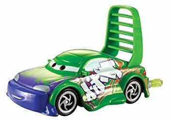 juguete disney / pixar cars wingo con las llamas del vehícu