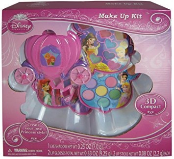 juguete disney princesa gift del kit del maquillaje w80