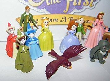 juguete disney princesa sofía la primera deluxe mini figura