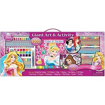 juguete disney princess arte gigante y set de actividades