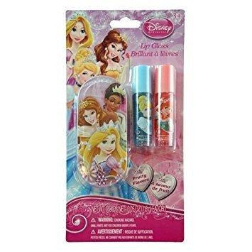 juguete disney princess bálsamo labial set mini con estaño