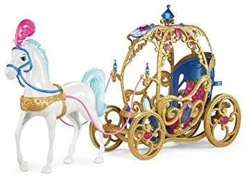 juguete disney princess cinderella caballo y carro