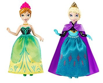 juguete disney princess congelados hermanas celebración ann