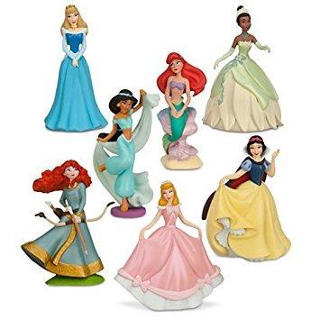 juguete disney princess figura set de juegos - figuras 7