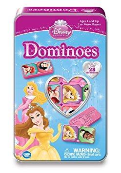 juguete disney princess juego de dominó de estaño