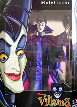 juguete disney villains maléfica muñeca (tamaño barbie bell