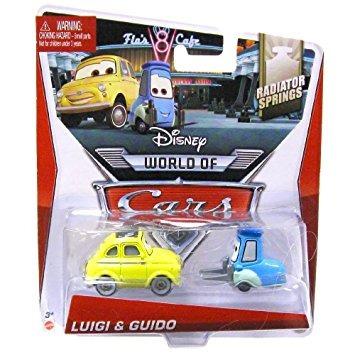 juguete disney world of cars, radiator springs die-cast, lu