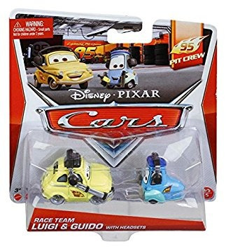 juguete disney/pixar cars, 95 pit crew die-cast vehicles, r