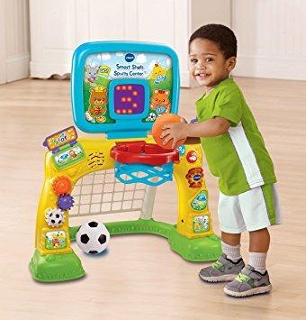 juguete disparos vtech inteligentes sports center