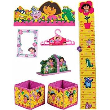 juguete dora la exploradora de 10 piezas de la decoración d