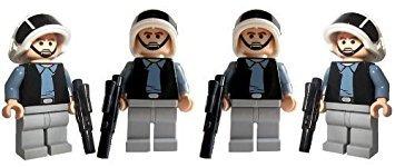 juguete ejército de soldado (4) - las figuras de lego star