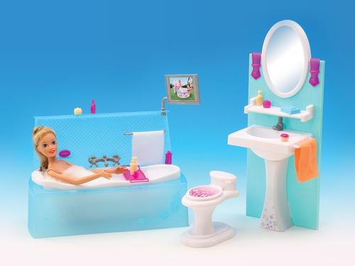 juguete el baño gloria muebles muñecas 29cm babymovil 2820