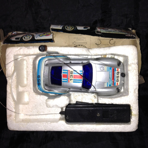 juguete electrónico: carro radio control p. 959 turbo 7vrd