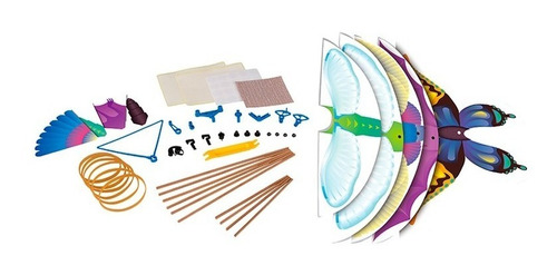 juguete energia sustentable gigo 7405 ornitoptero armar edu