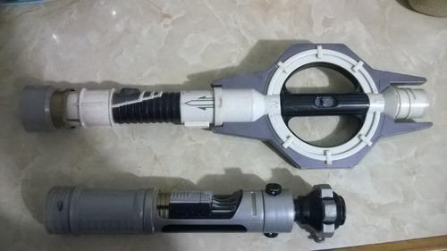 juguete espada star wars coleccion lote