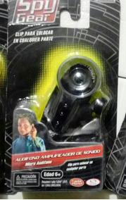 Sonido De Gear Juguete Spy Espia Amplificador Audifono OPXk8wn0
