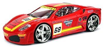 juguete f1 coche de carreras con pilas del control remoto r