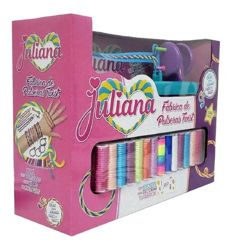 juguete fabrica de pulseras twist juliana original
