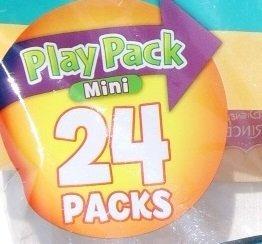 juguete favor de partido juega pack - disney - 24 mini pack