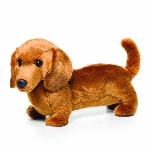 juguete felpa jules y nat dachshund grande