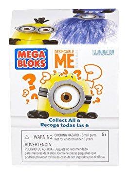 juguete figura ciegos paquete i juguete mega bloks despicab