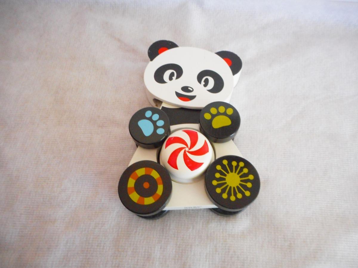 Madera 00 Panda Toys Juguete De Movil Osito Marca Figura Rus580 8N0mnw