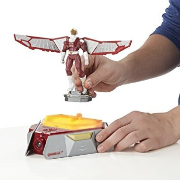 juguete figura playmation marvel avengers falcon héroe inte