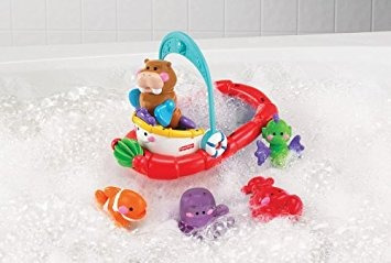 juguete fisher-price amazing animals tubtime remolcador