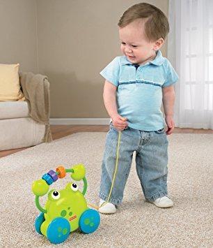 juguete fisher-price bebé en crecimiento tire a lo largo de
