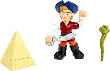juguete fisher-price disney jake y los piratas w37