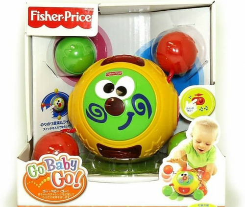 juguete fisher price go baby go