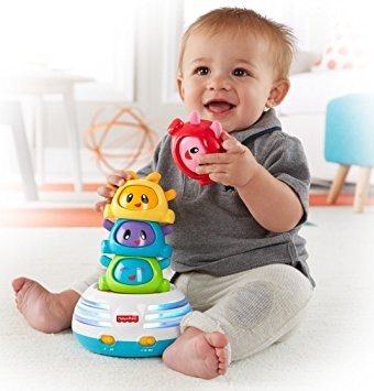 juguete fisher-price golpes brillantes build-a-batir stacke