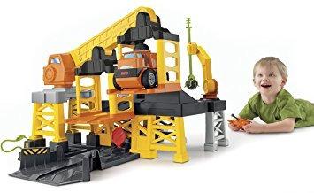 juguete fisher-price gran acción emplazamiento de la obra c