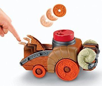 juguete fisher-price imaginext castillo de ariete