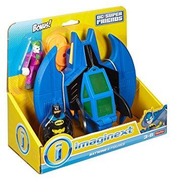 juguete fisher-price imaginext dc super friends batman y jo