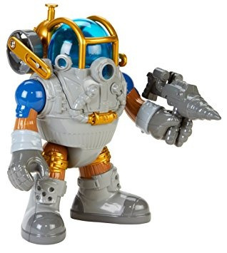 juguete fisher-price imaginext pirata buceo armor