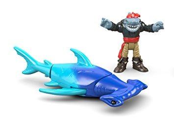 juguete fisher-price imaginext tiburón martillo