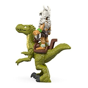 juguete fisher-price imaginext velociraptor