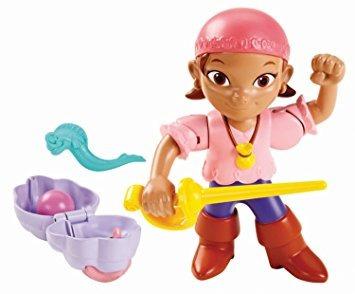 juguete fisher-price jake y la figura de acción de los pira
