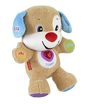 juguete fisher-price laugh and learn del perrito