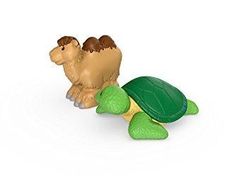 juguete fisher-price little people camello y la tortuga de