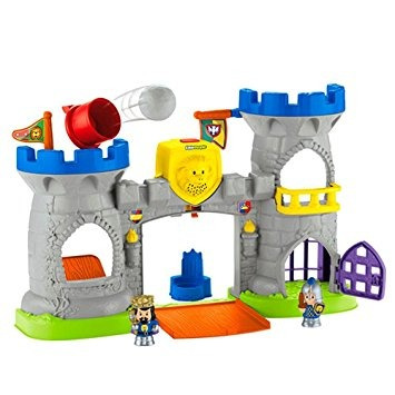 juguete fisher-price little people castillo mighty reyes