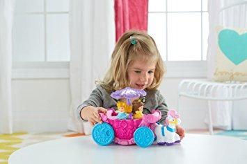 juguete fisher-price little people disney princess carrusel