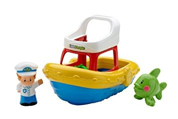 juguete fisher-price little people floaty barco