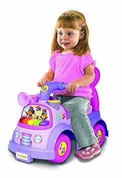 juguete fisher-price little people música desfile ride on,