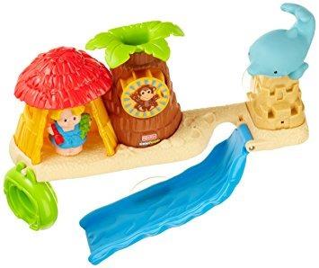 juguete fisher-price little people splash 'n scoop barra ba