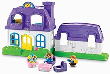 juguete fisher-price little people suena feliz inicio