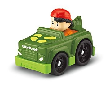 juguete fisher-price little people wheelies koby